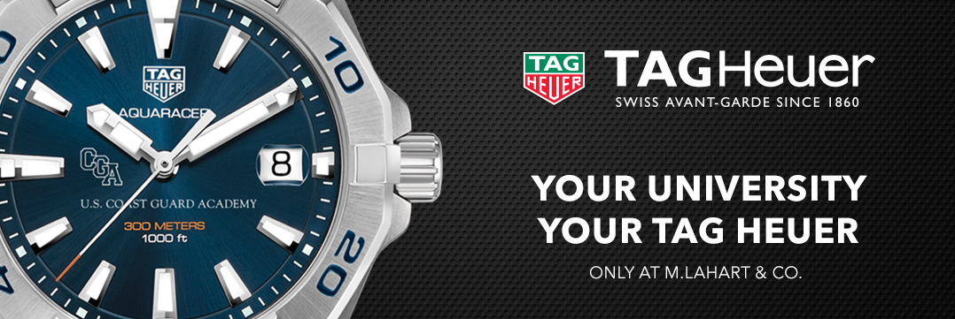 Coast Guard Academy TAG Heuer. Your University, Your TAG Heuer