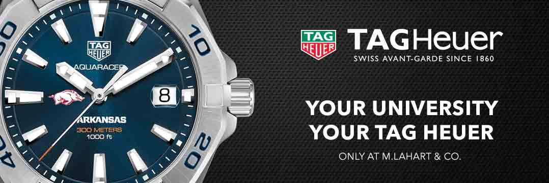 Arkansas TAG Heuer Watches - Only at M.LaHart
