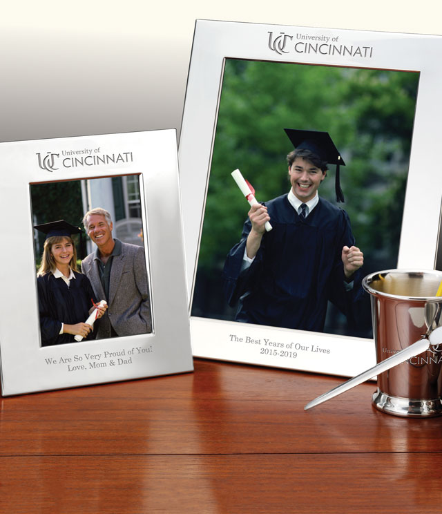 Cincinnati Picture Frames and Desk Accessories - Cincinnati Commemorative Cups, Frames, Desk Accessories and Letter Openers