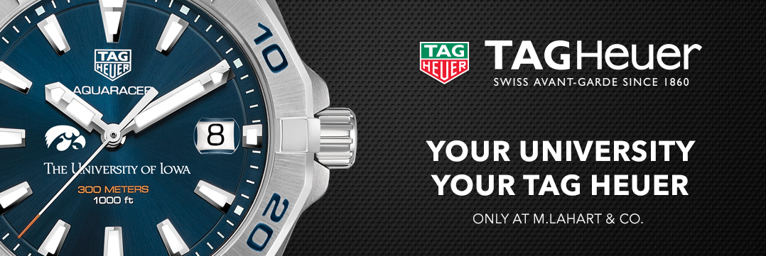 Iowa TAG Heuer Watches - Only at M.LaHart