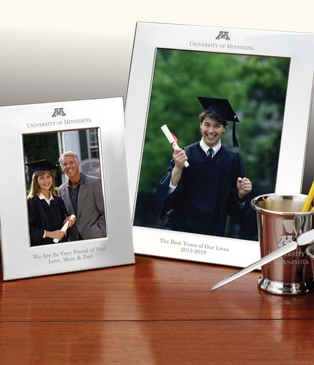 Minnesota Picture Frames and Desk Accessories - Minnesota Commemorative Cups, Frames, Desk Accessories and Letter Openers