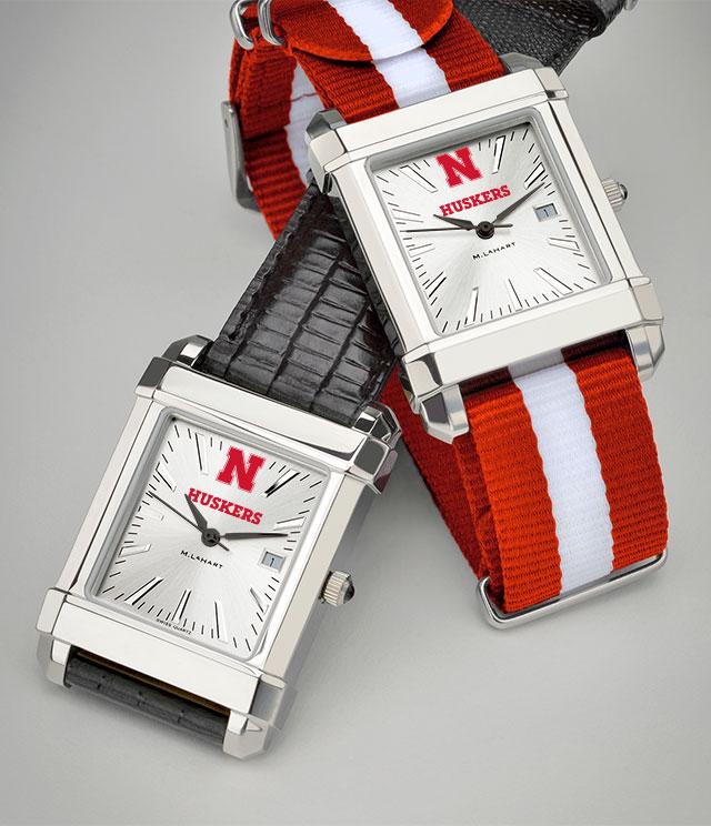 Nebraska Men's Watches. TAG Heuer, MOVADO, M.LaHart