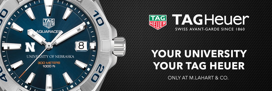 Nebraska TAG Heuer Watches - Only at M.LaHart