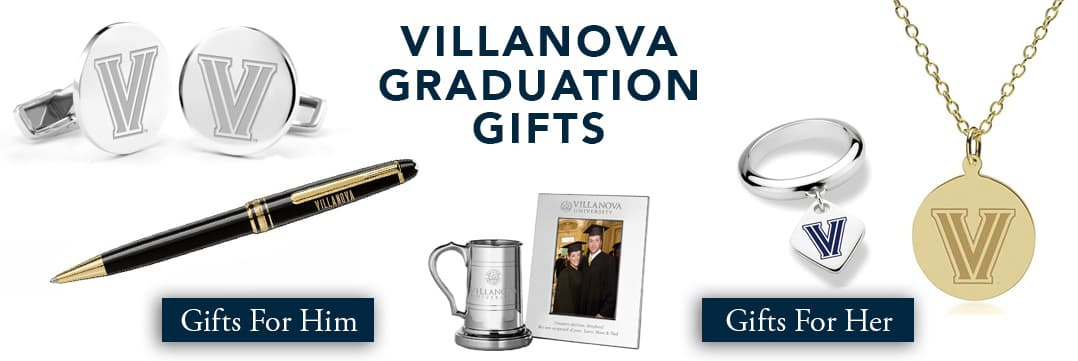 Villanova Graduation Gifts for Her and for Him