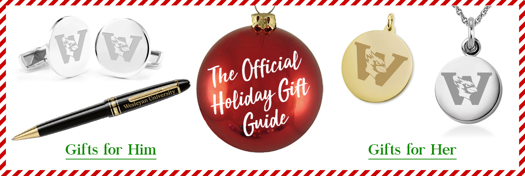 The Official Holiday Gift Guide for Wesleyan