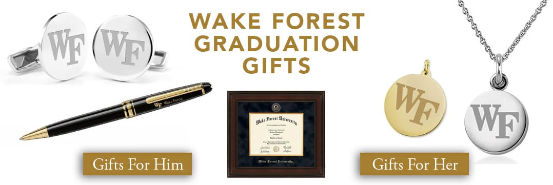 Wake Forest Graduation Gifts for Her and for Him