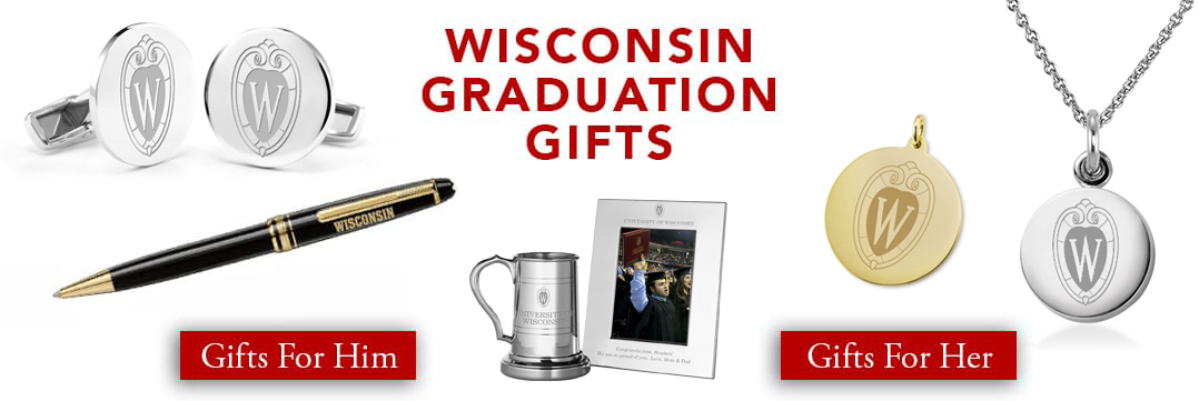 Wisconsin Graduation Gifts for Her and for Him