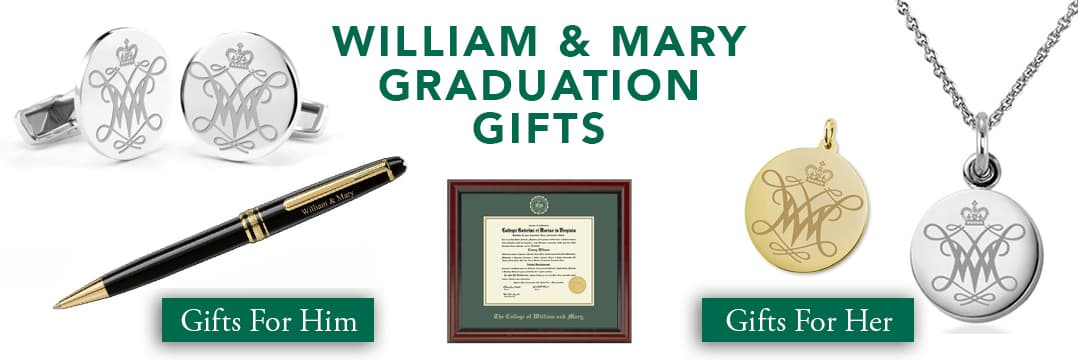 William & Mary Graduation Gifts for Her and for Him