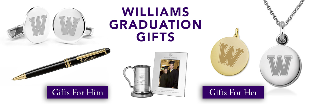 Williams College Graduation Gifts for Her and for Him