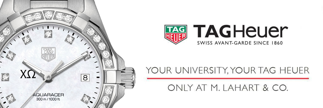 Chi Omega Women's TAG Heuer Watches - Fine Chi O Watches by M.LaHart