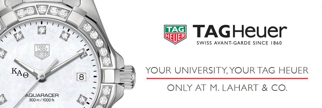 Kappa Alpha Theta Women's TAG Heuer Watches - Fine Kappa Alpha Theta Watches by M.LaHart