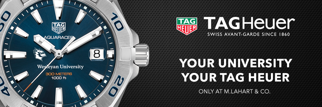 Wesleyan University TAG Heuer Watches - Only at M.LaHart