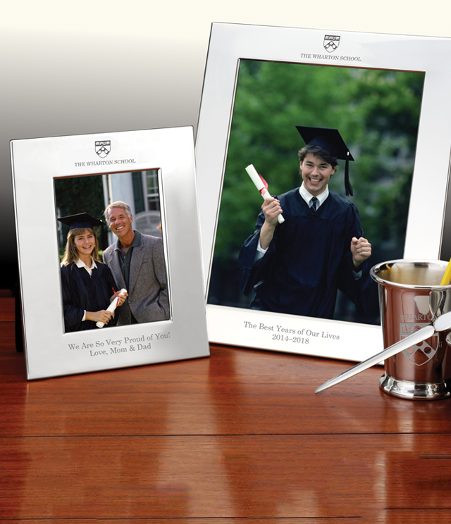 Wharton Picture Frames and Desk Accessories - Wharton Commemorative Cups, Frames, Desk Accessories and Letter Openers