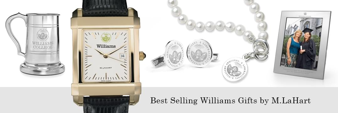 Best selling Williams College watches and fine gifts at M.LaHart