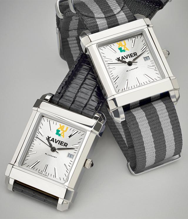 Xavier University of Louisiana Men's Watches. TAG Heuer, MOVADO, M.LaHart