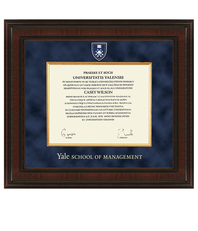 Yale School of Management Picture Frames and Desk Accessories - Yale School of Management Commemorative Cups, Frames, Desk Accessories and Letter Openers
