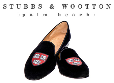 Stubbs & Wootton Logo & Slippers