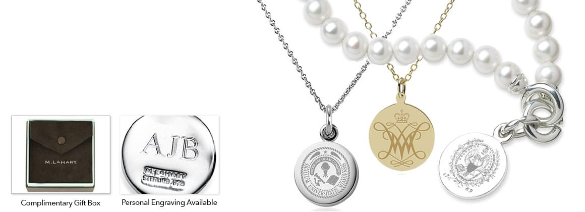 University Personalized Jewelry